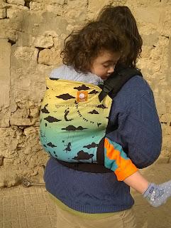 tula toddler test avis préformé porte-bébé babycarrier portage babywearing bambin porter taille tablier