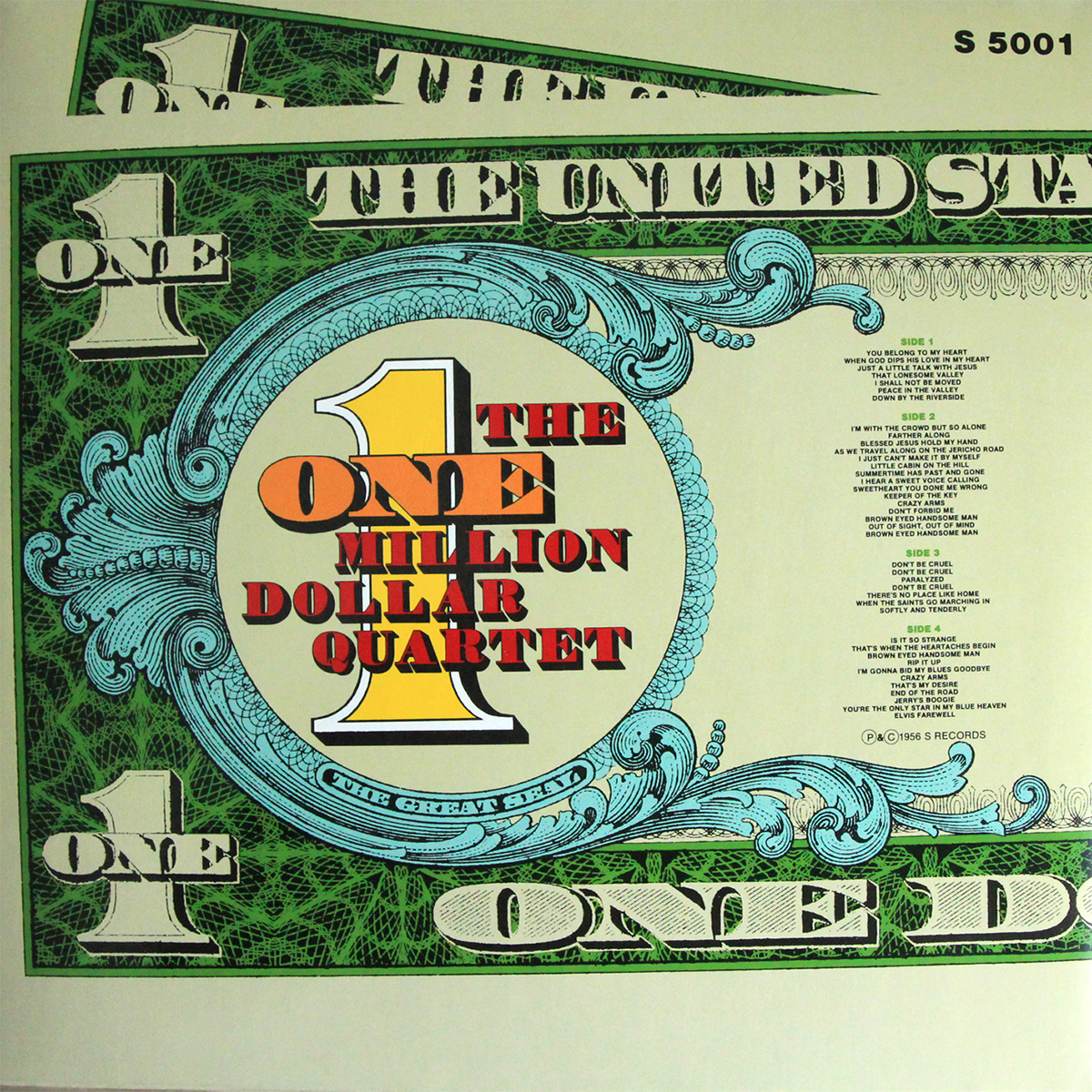 Bootlegging Elvis The One Million Dollar Quartet Lp