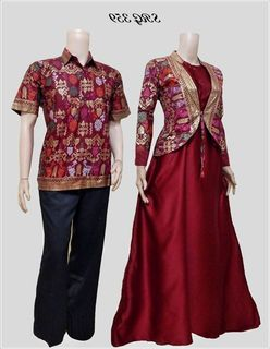 Model Baju Batik Couple Ayah Ibu Dan Anak