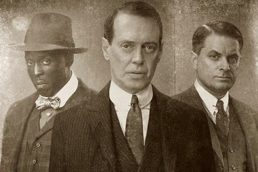 Nucky Thompson, Eli y Chalky White. serie HBO
