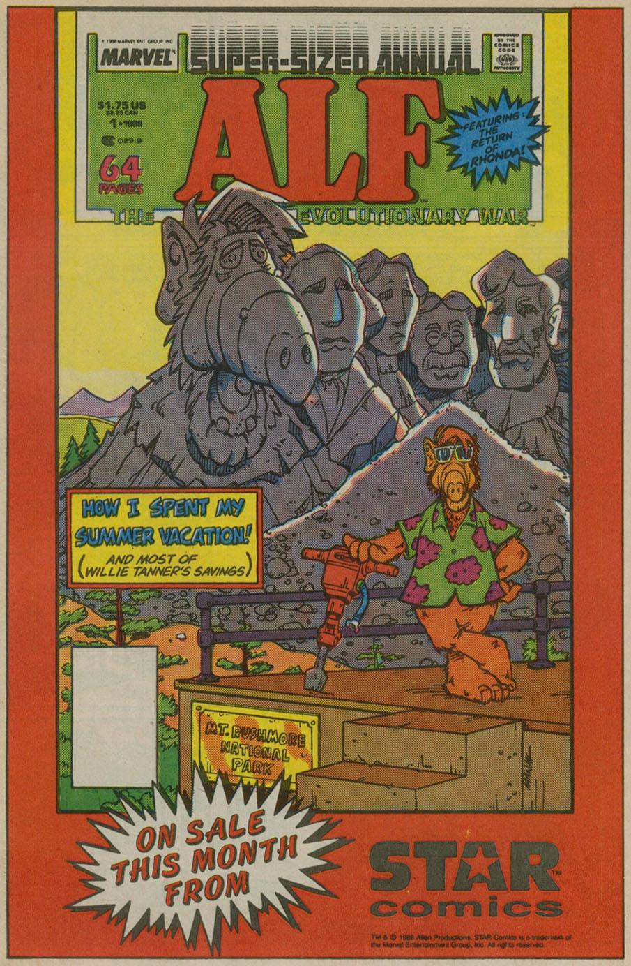 Read online ALF comic -  Issue # _Annual 1 - 26