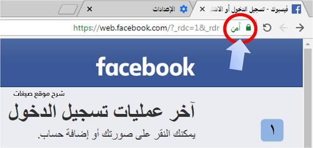امن فيسبوك