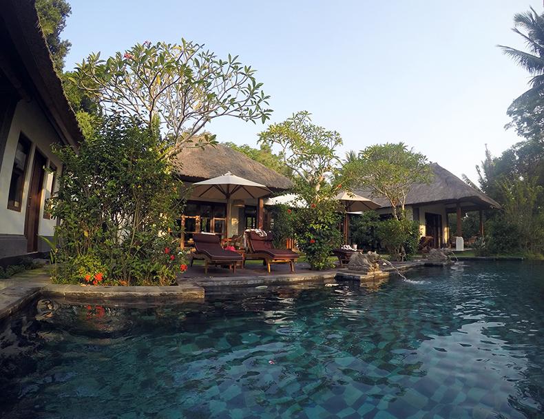 Euriental | fashion & luxury travel | Ubud, Bali, Villa Amrita infinity pool