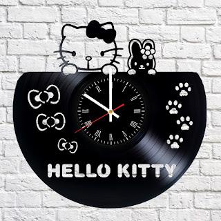 Gambar Jam Dinding Hello Kitty 3