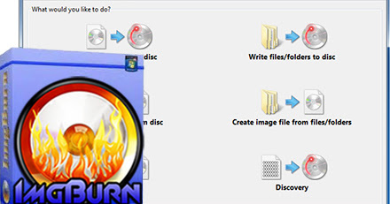 Img Burn | Burn your files to CD/DVD