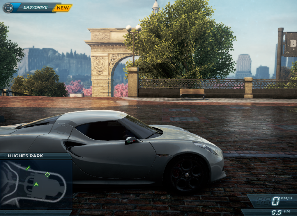 Need For Speed Most Wanted Car Locations Alfa Romeo 4c Concept