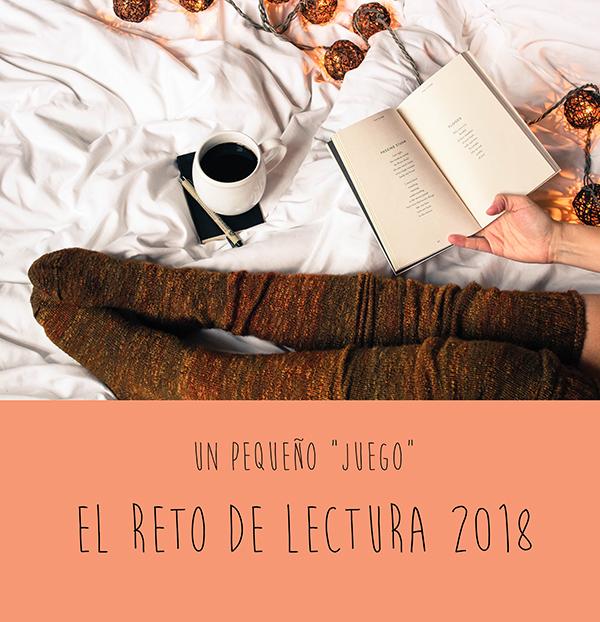 Reto de lectura 2018 ¿te animas?