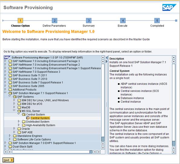 SAP Solution Manager 7 1 Installation Steps - Techrelam