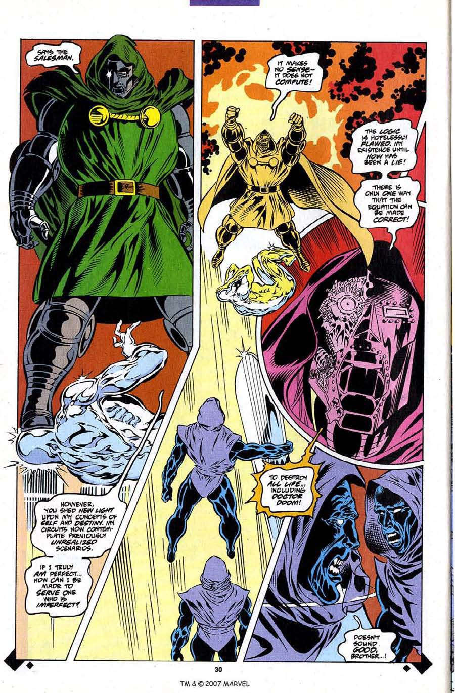 Read online Silver Surfer (1987) comic -  Issue #107 - 32