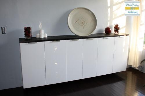 Home Custom Bar From Ikea Kitchen Cabinets