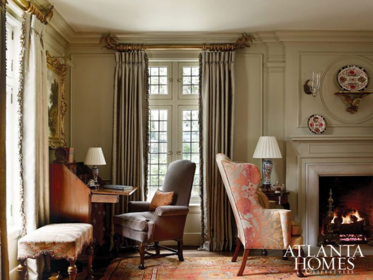 Wingback Chairs Graced The Hearths Of Many Colonial Homes This One Features Another Por Leg Style Chippendale