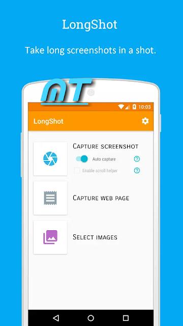 Menggunakan Aplikasi LongShoot
