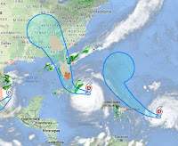 Hurricanes Irma and Jose