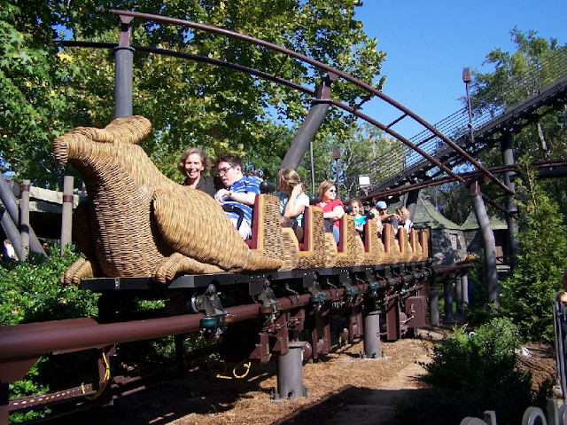 Flight of the Hippogriff no Islands of Adventure em Orlando