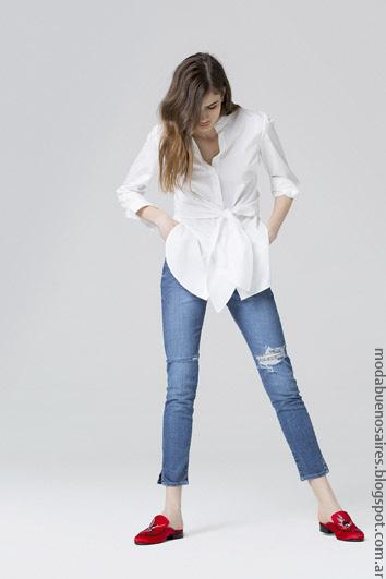 Moda jeans moda primavera verano 2017 ropa de moda 2017.
