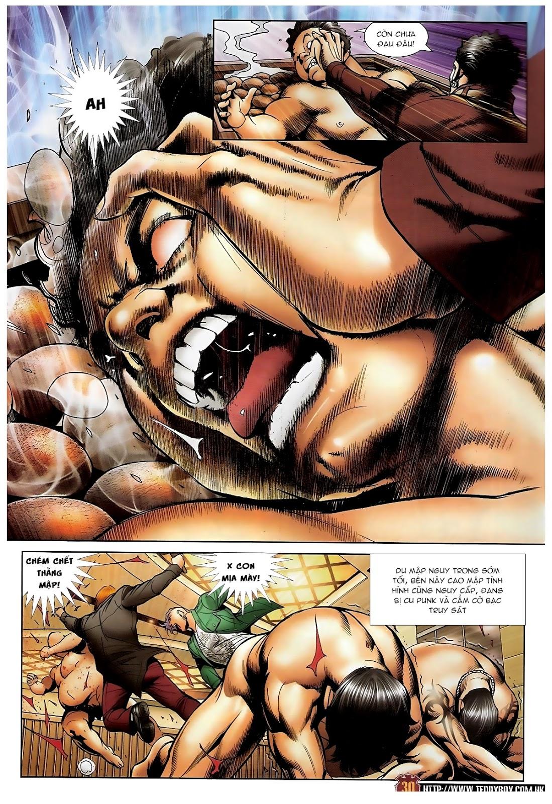 Người Trong Giang Hồ - Chapter 1570: Tắm máu sauna - Pic 26