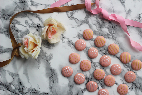 Wedding favour macaron recipe