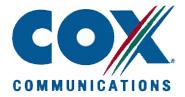Cox Communication Internet Service Provider
