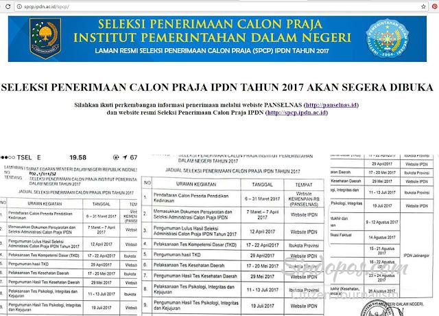 penerimaan-calon-praja-IPDN-kemendagri-sindopos