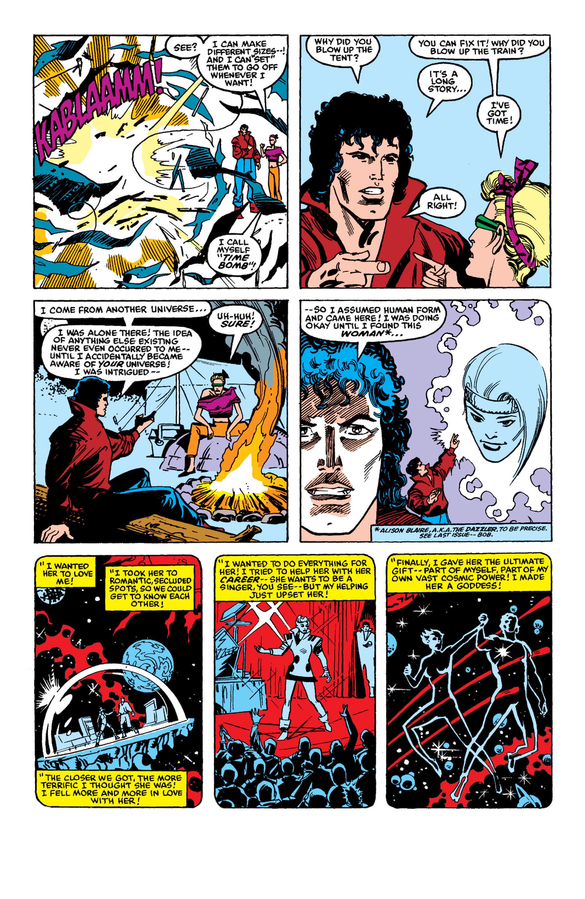 Read online Secret Wars II comic -  Issue #5 - 5