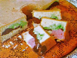 Gambar Resep Rainbow Cake