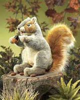 Squirrel Puppet Folkmanis