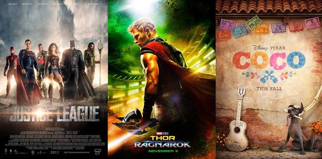 Jadwal Rilis Film Hollywood Terbaik Bulan November 2017