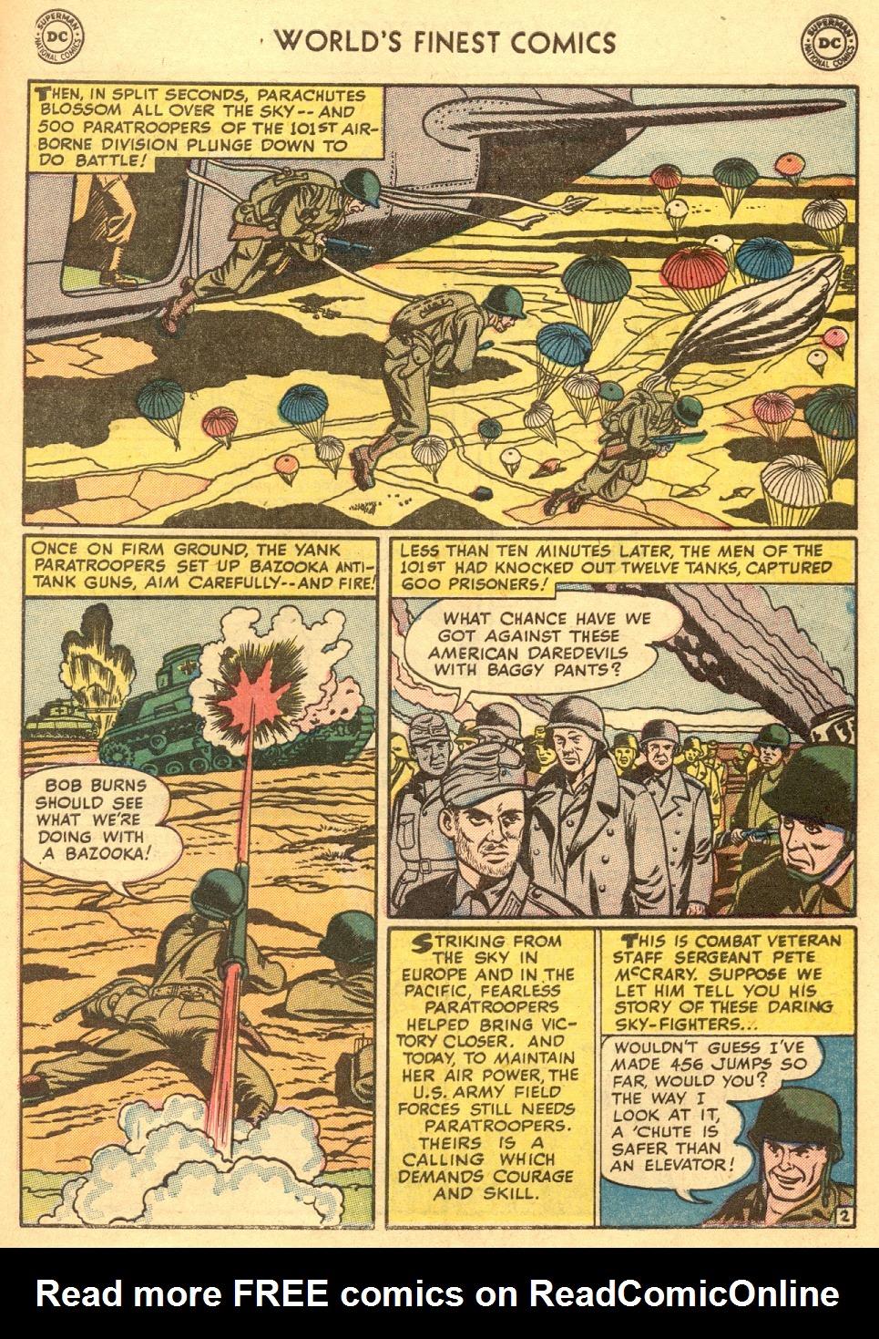 Read online World's Finest Comics comic -  Issue #70 - 51