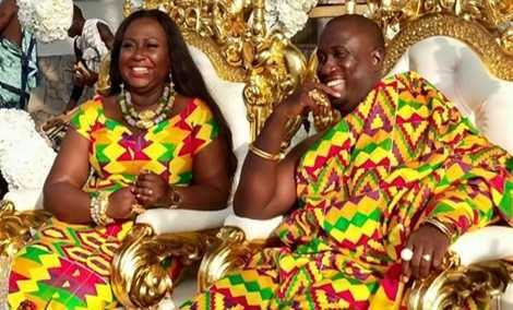 Gifty Anti and Nana Ansah Kwao IV mark first wedding anniversary