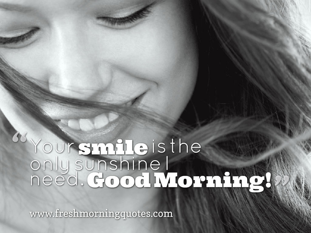 put a smile on faces good morning images with quotes