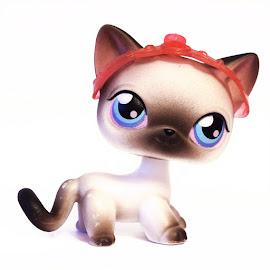 Littlest Pet Shop Special Siamese Cat (#5) Pet