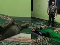 5 Fakta Maslikin Tewas Dib*cok saat Salat di Masjid, Dibunuh saat Rakaat Kedua hingga Sosok Pelaku