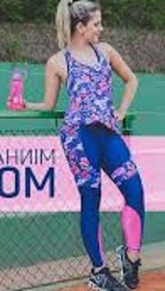 Sol, Saúde e Fitness: Modelo Top Para Malhar 03