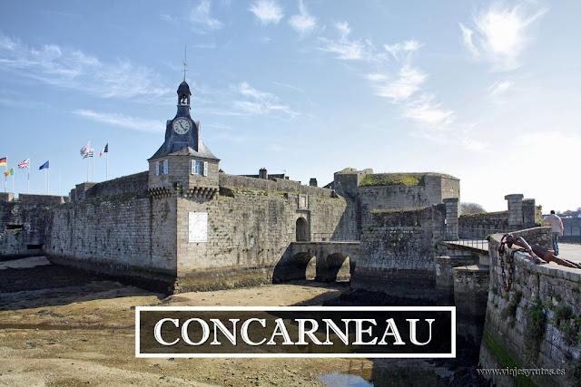 Recorriendo Bretaña: La ville close de Concarneau