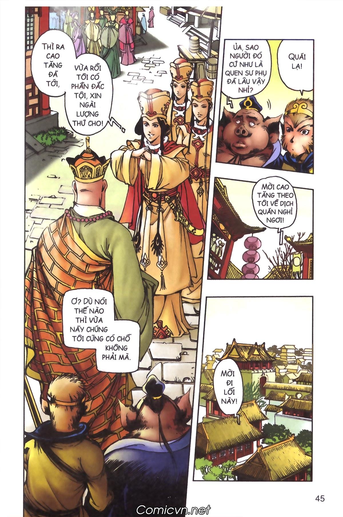 Tây Du Ký màu - Chapter 97 - Pic 15