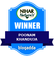 Winner With Nihar Naturals & BlogAdda