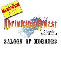 Free GM Resource: Drinking Quest Side Quest Saloon of Horrors