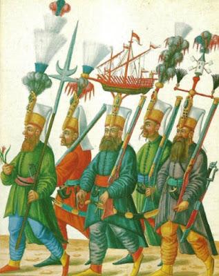 Janizaries senjata modern di perang salib