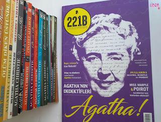 agatha christie dergi, 221b dergi, 221b agatha, agatha christie magazine,