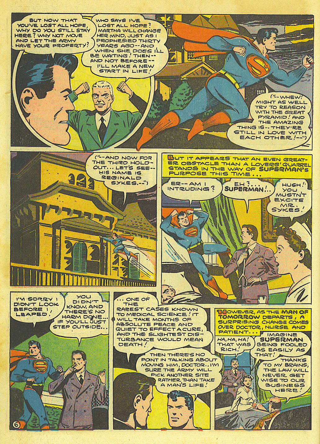 Read online Action Comics (1938) comic -  Issue #67 - 8