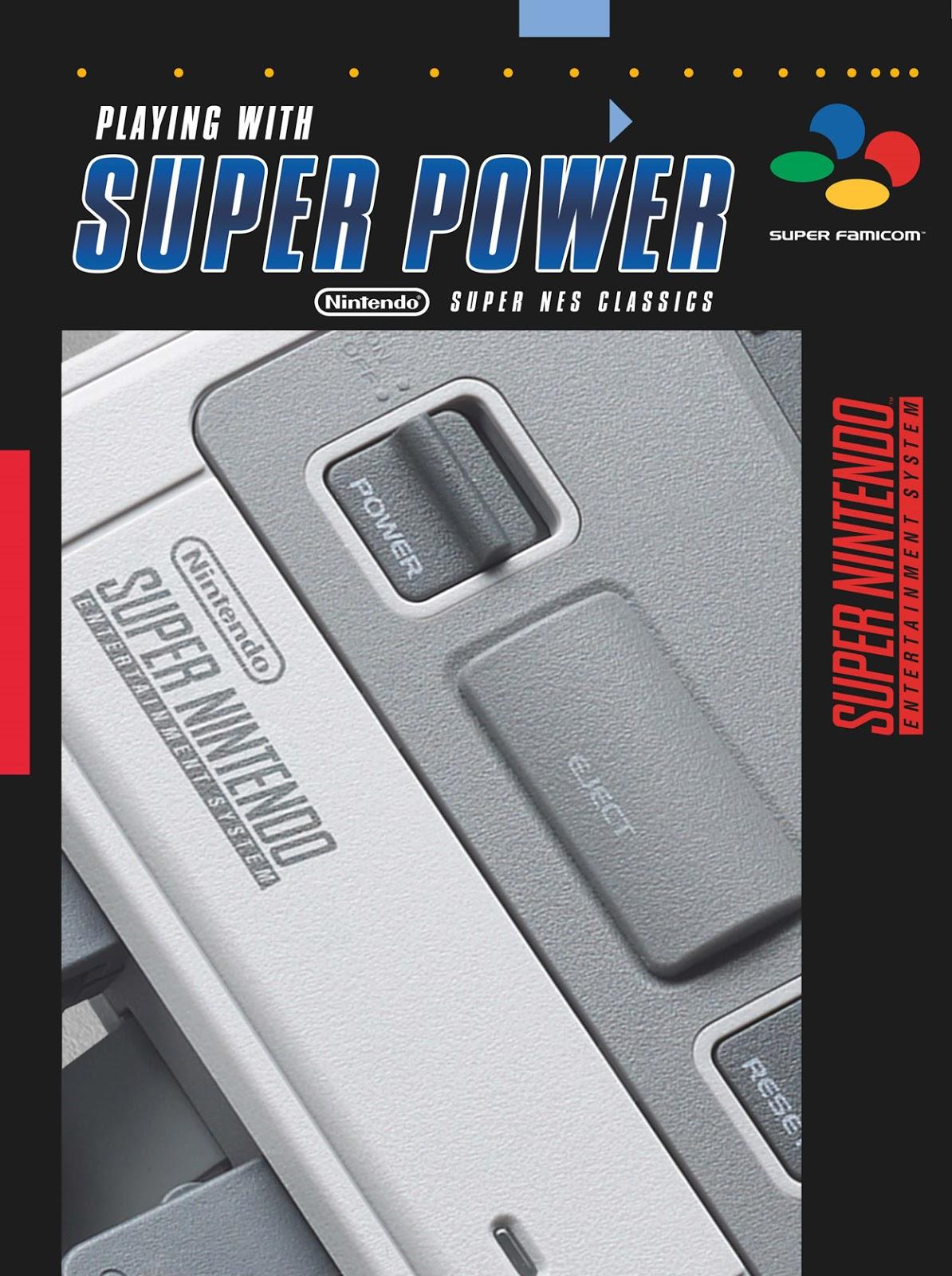 Se anuncia guía oficial de Super Nintendo Classic Mini con todo tipo de contenido