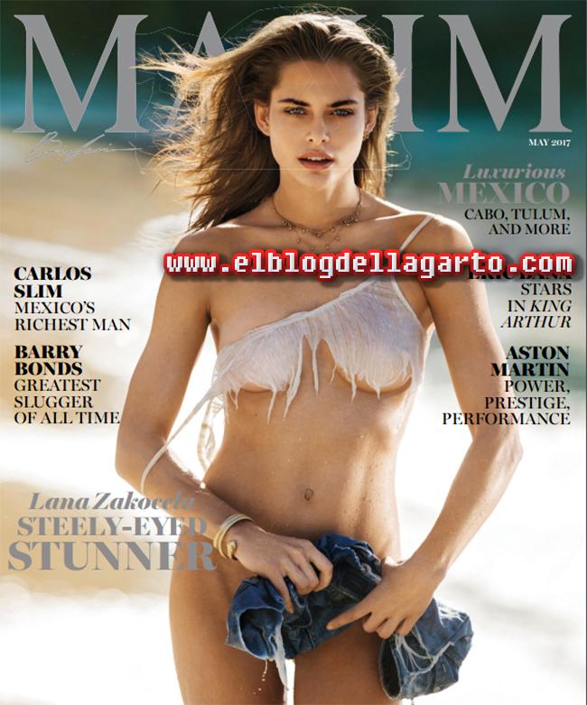 Revista Maxim USA - Lana Zakocela