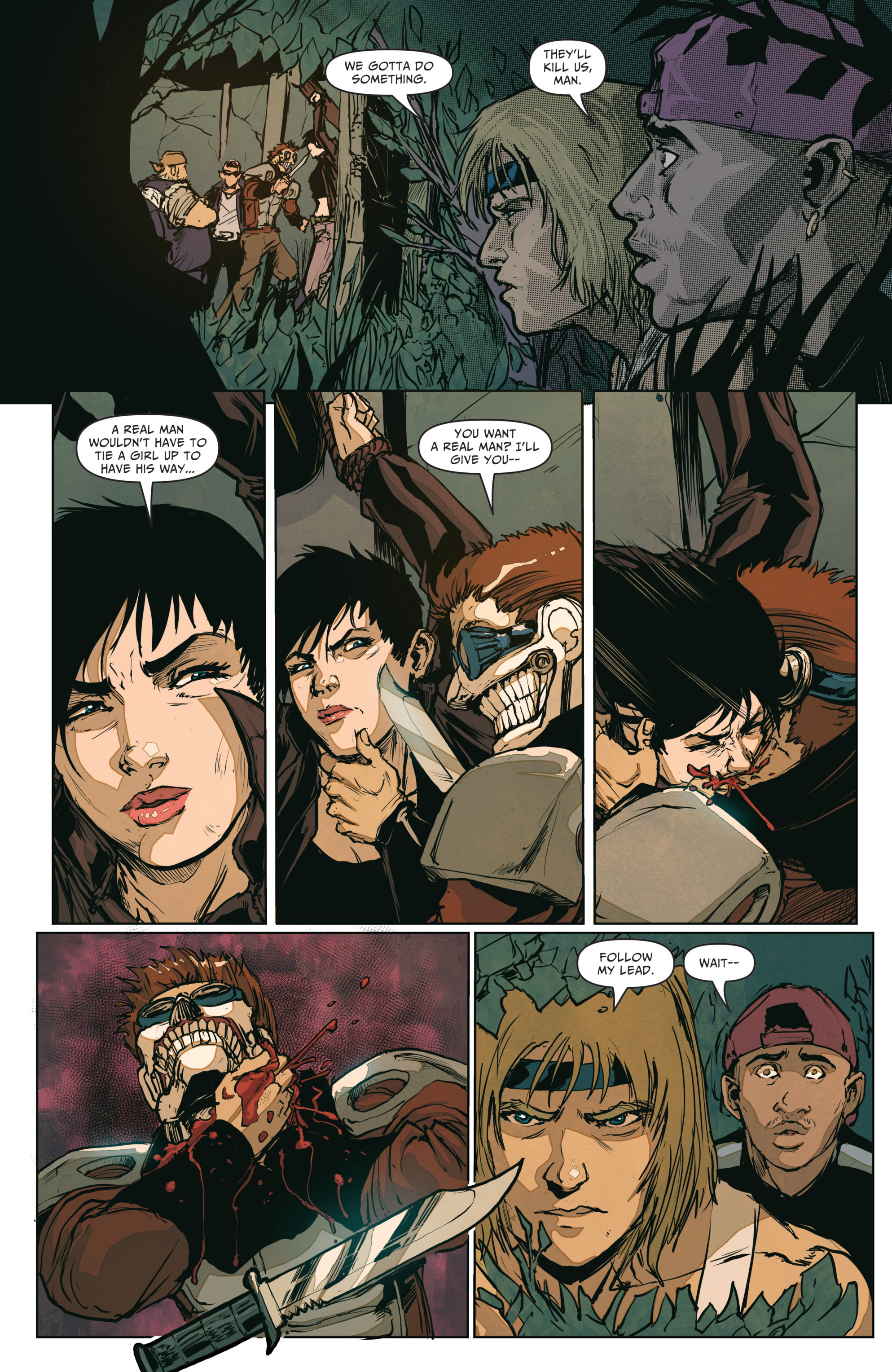 Read online The Courier: From the Ashes comic -  Issue #3 - 7