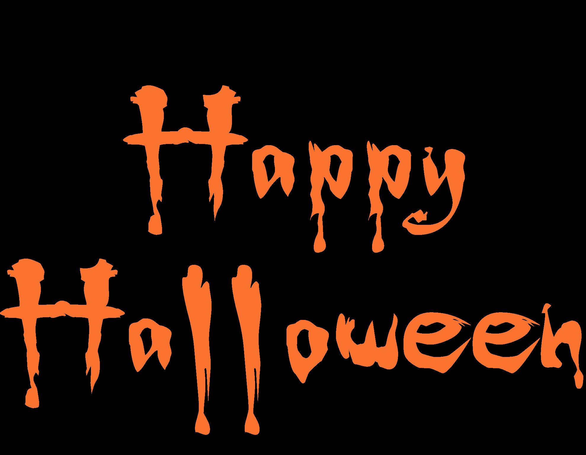 Happy Halloween con murciélagos