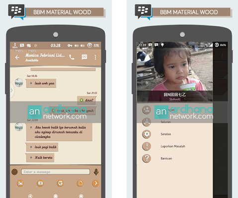 MOD BBM Material Wood
