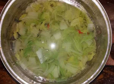 cara memasak sayur sawi putih sedap