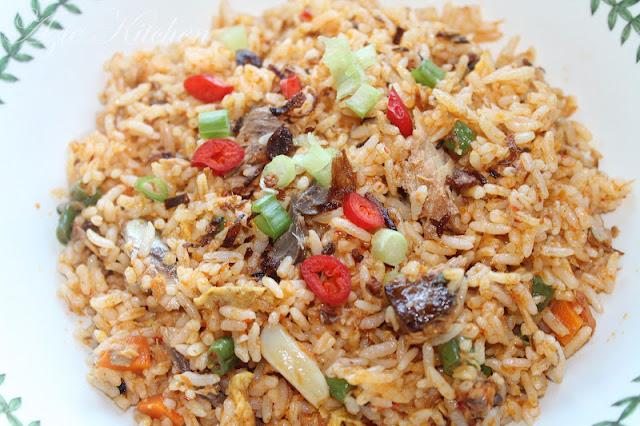Nasi Goreng Ikan Sardin