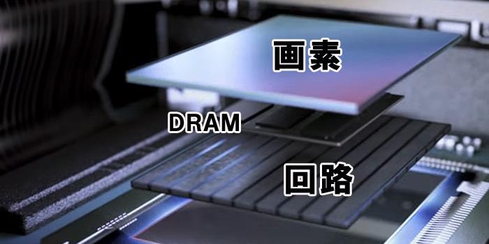 XPERIA XZ PremiumはDRAMを積層した3層構造の積層型CMOSイメージセンサーを採用