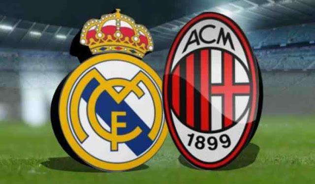 مقارنة بين ريال مدريد الاسباني و ميلان الايطالي كلا