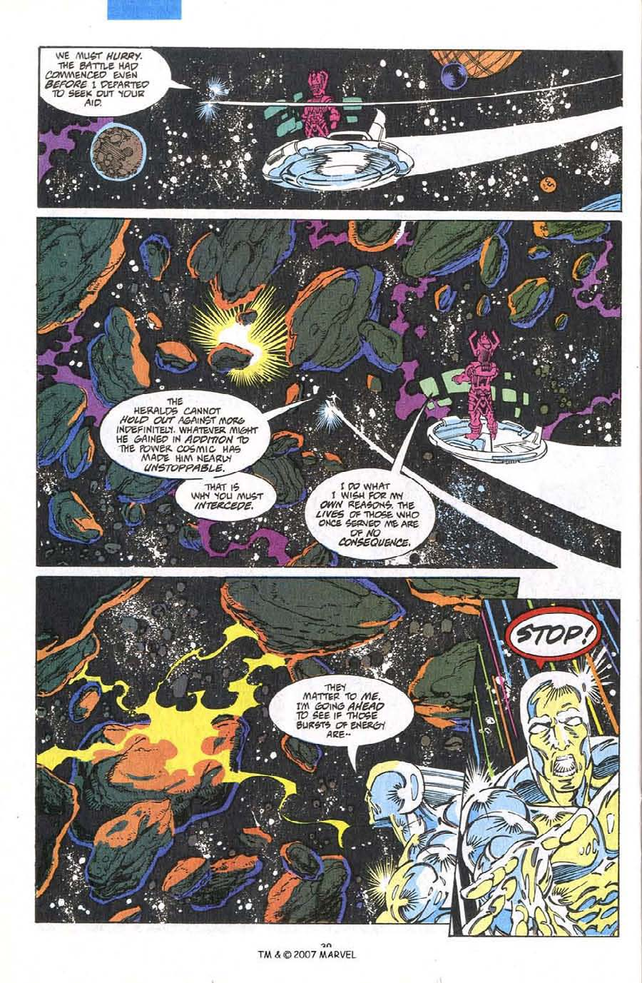 Read online Silver Surfer (1987) comic -  Issue #75 - 32